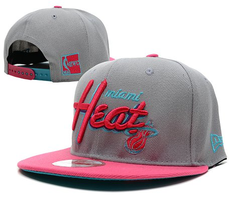 Miami Heat NBA Snapback Hat SD19